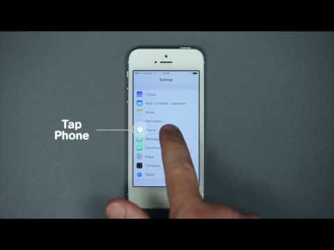 How to configure and use Call Forwarding with iOS? - Mobistar