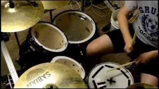 r o c k in the u s a drum cover