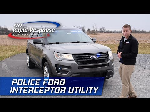 Administrative Police 2017 Ford Interceptor Utility | 911RR