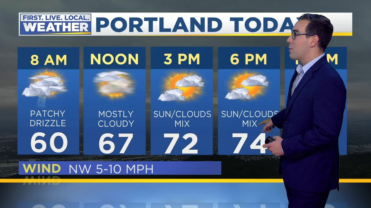 Wednesday morning FOX 12 weather forecast (7/3)