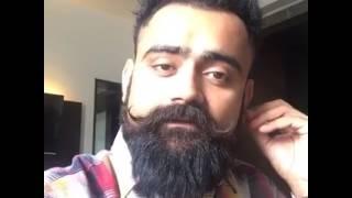Amrit mann replying to punjab song  --   amrit mann ne gurdas mann de punjab song di kiti copy