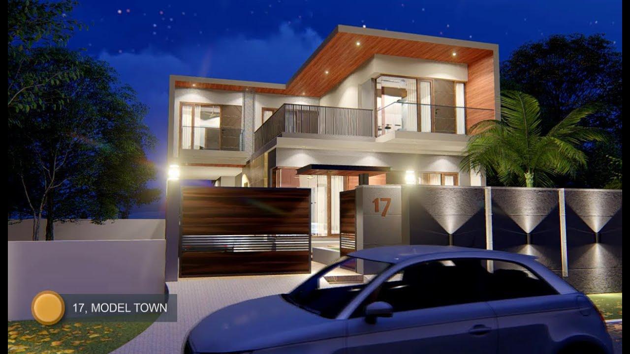35x60 Feet 2500 Sqft Modern House Design House Plan Interior Youtube