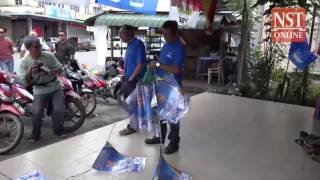 Tanjong Datu by-election campaigning off to a mixed start
