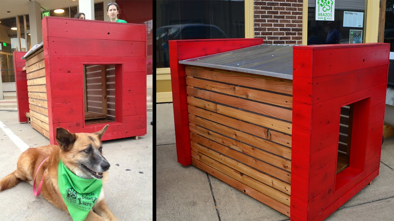 Best Make Dog House Ideas Become Trends This Year (in 2016)