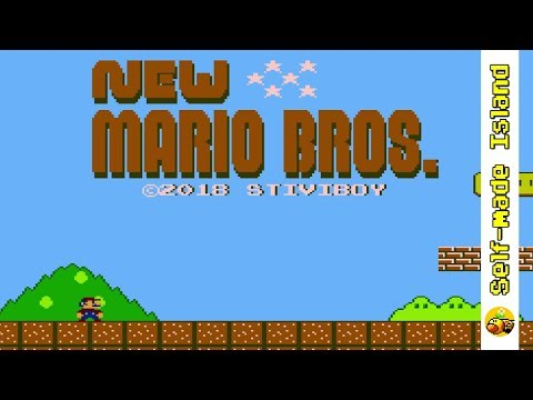 New Mario Bros. • Super Mario Bros. ROM Hack (NES/Nintendo Entertainment System)