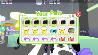 Give Away Pets & account Roblox okay watch Sampe done