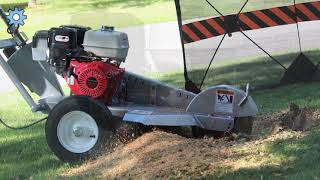 Dosko 337-13HC Stump Grinder Instructional Video