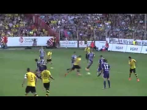 Osnabrück 1 - 1 Borussia Dortmund. супергол Мхитаряна