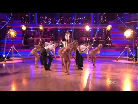 HD THE LOCOMOTION  on Dancing With The Stars  Kylie Minogue