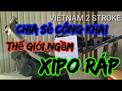 chia sẻ thế giới ngầm satria xipo ráp,xipo ráp giá rẻ/vietnam 2 stroke