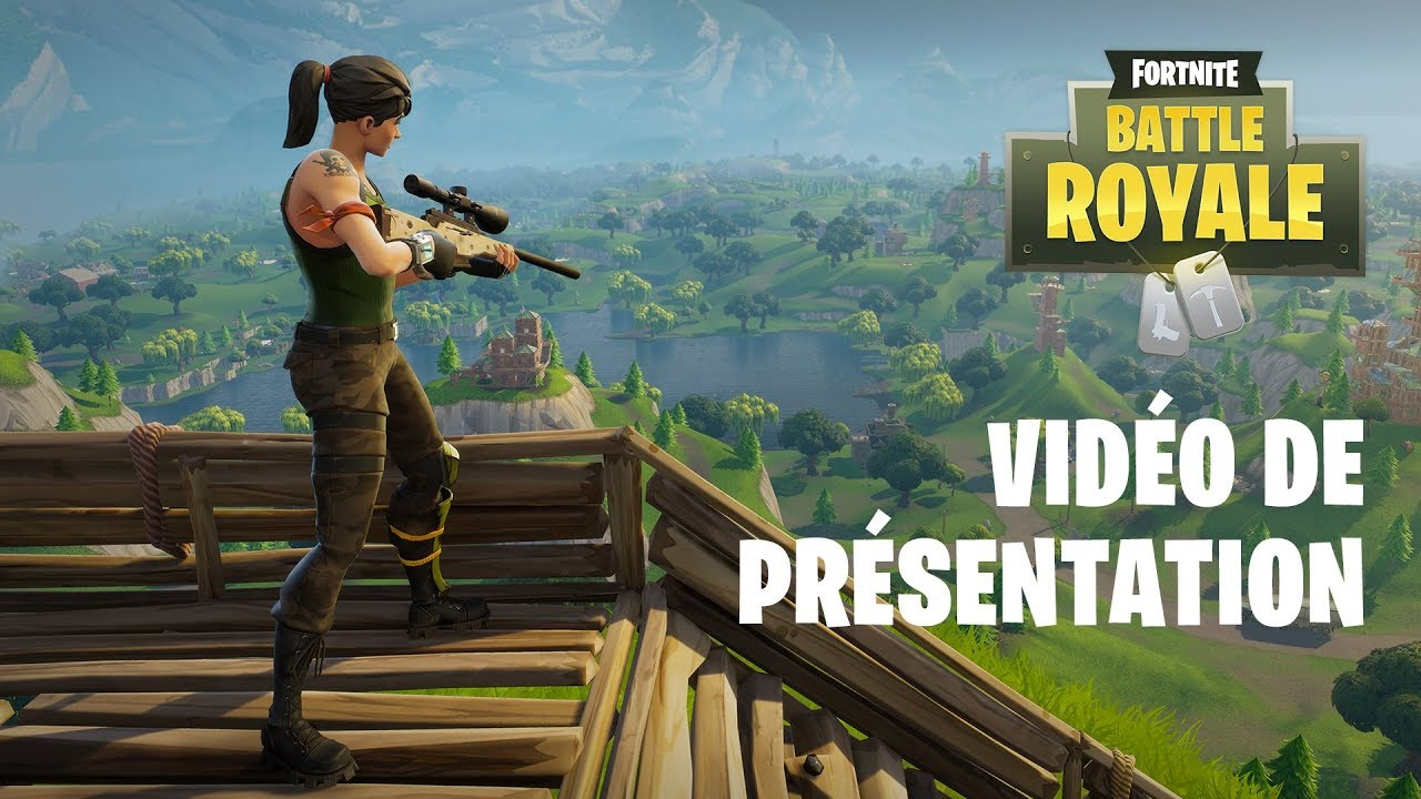 Fortnite Battle Royale Trailer De Lancement