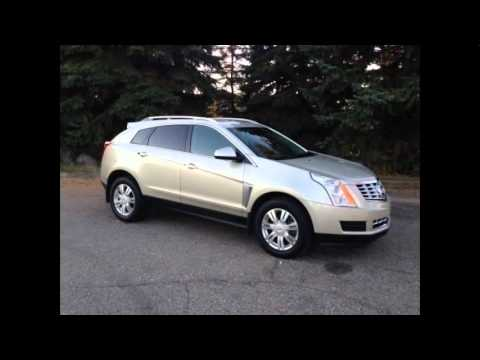 2016 cadillac srx crossover silver coast metallic youtube. Black Bedroom Furniture Sets. Home Design Ideas