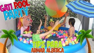 La Alberca de erick - La Pool Party de Kimi / Kids Play