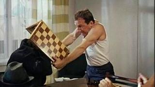 Веселые шахматы. Мат! Отдавайте пиджак!