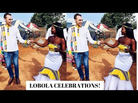 OUR LOBOLA CELEBRATION!! AFRICAN TRADITIONAL MARRIAGE.