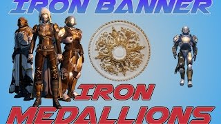 Destiny Iron Banner 2.0 Iron Medallions | Iron Banner How Medallions of Iron Work