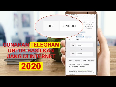 HASILKAN UANG DI INTERNET - 2020   VIA TELEGRAM