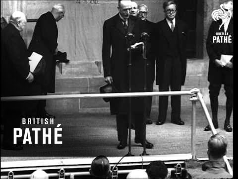 Inauguration Of The New House Of Commons Building AKA Inauguration Of New House Of Commons  (1948)