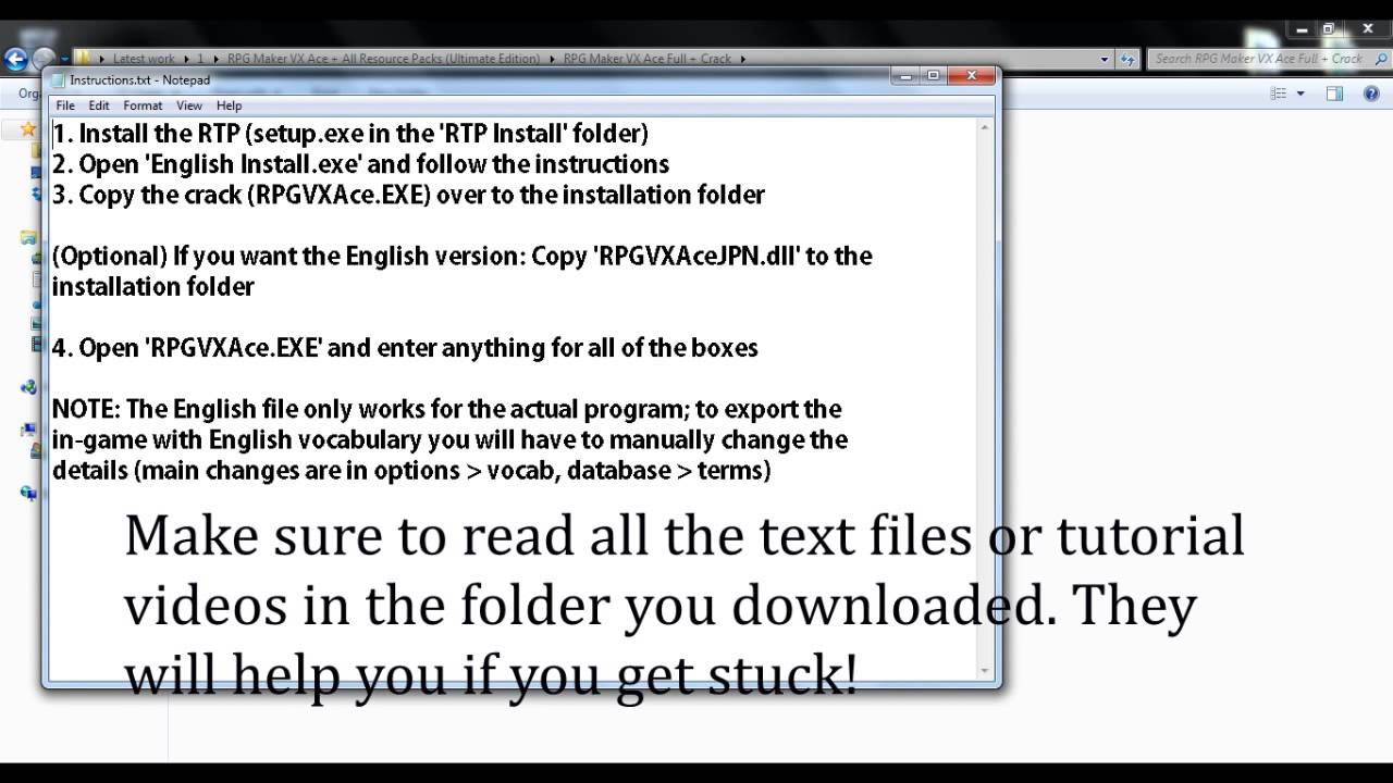 rpg maker vx ace all resource packs ultimate edition torrent