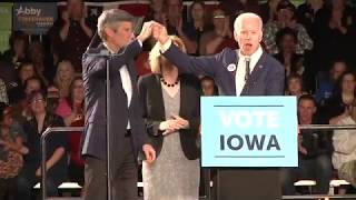 Joe Biden in Cedar Rapids