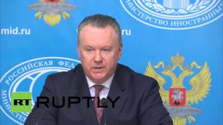 Russia: We hope Serbia remembers its friendly relations with Moscow - Lukashevich