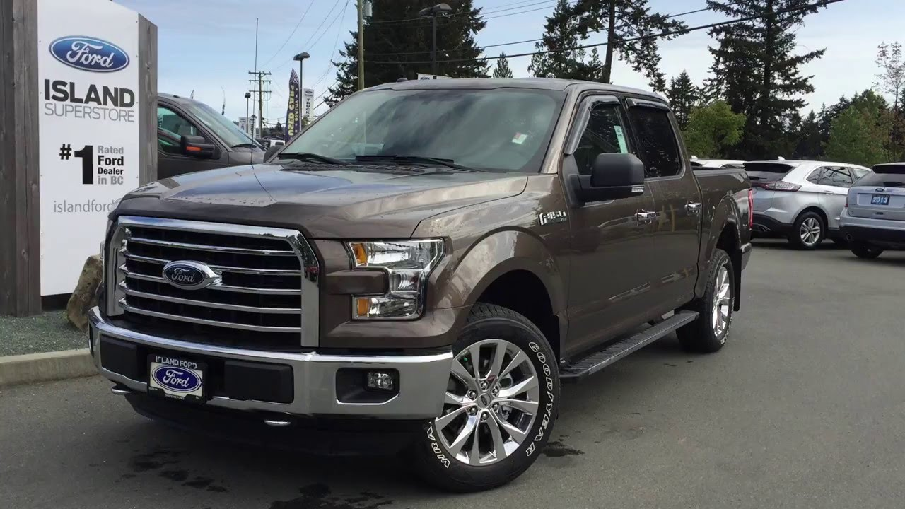 2016 ford f 150 xlt supercrew sport review island ford youtube. Black Bedroom Furniture Sets. Home Design Ideas