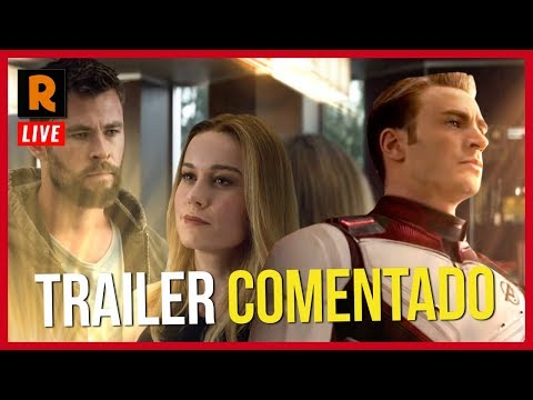 VINGADORES ULTIMATO | TRAILER 2 COMENTADO