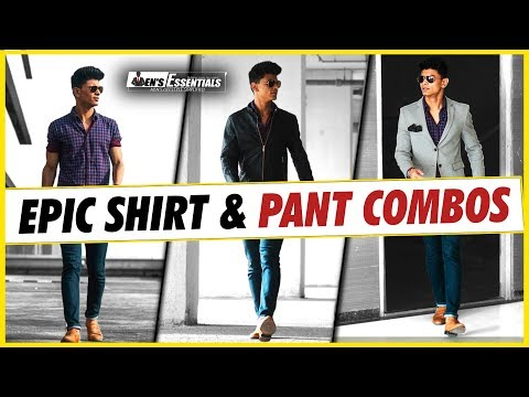 latest-shirt-and-pant-combinations-every-indian-man-needs- -smart-casual-outfits-for-indian-men
