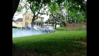 "1964 Comet ""Hammer Time"" - First burnout on the blacktop!"