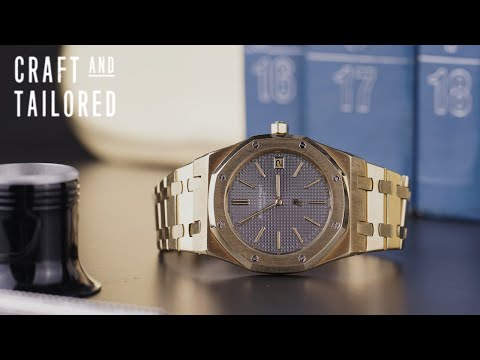 What Is On My Wrist: 1980 Audemars Piguet Royal Oak 5402 18K Yellow Gold (Episode 5)