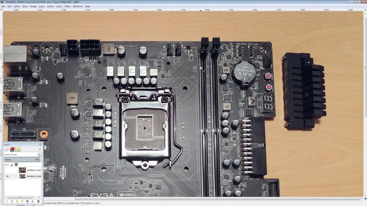 Motherboard PCB Breakdown: EVGA Z370 Micro
