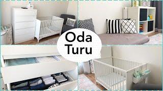 ODA TURU🏠    Sıfırdan Oda Yaptım 😍   Düzen, Dekorasyon Herşey var