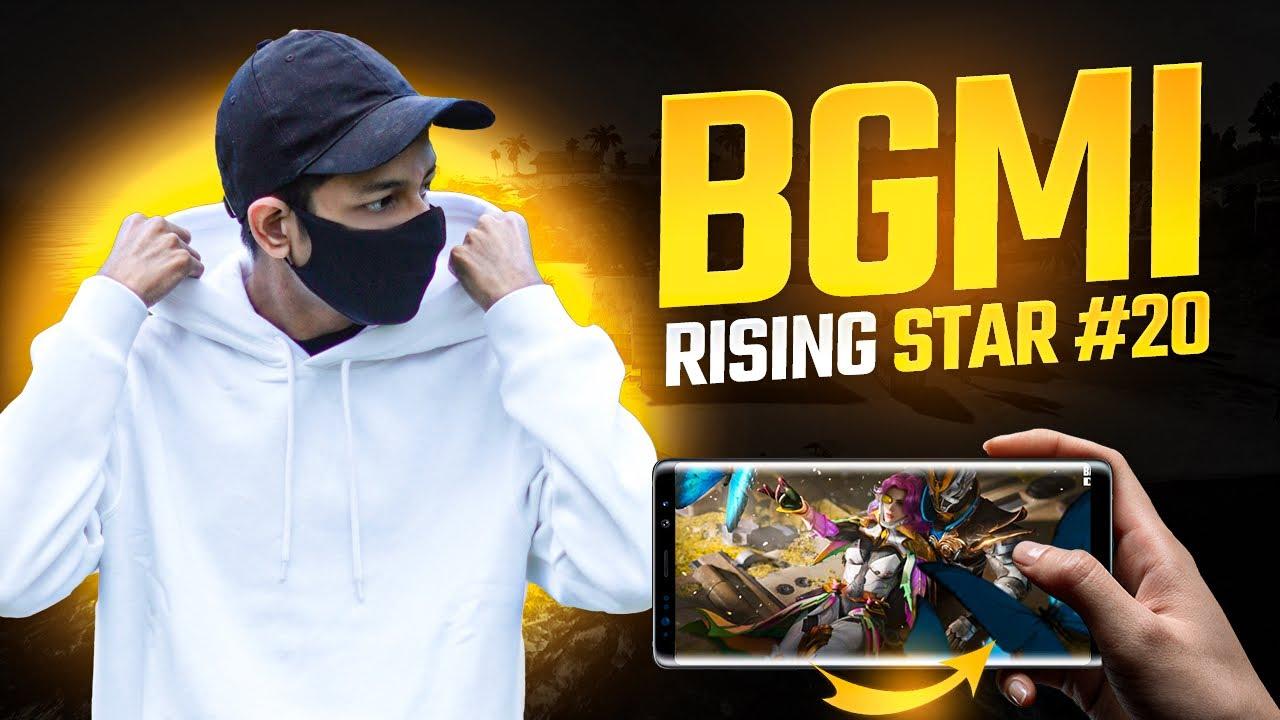 😤 BGMI Top #20 Rising Star 30FPS Mobile Gameplay - Legend X