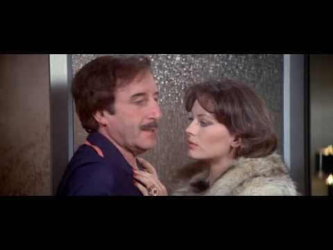 Lesley Anne Down seduces Inspector Clouseau (Peter Sellers) - Pink Panther Strikes Again