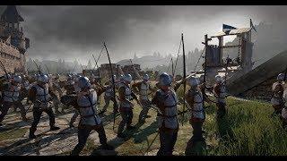 Conqueror's Blade Войны за территории ,как оно есть. OPG рейд.