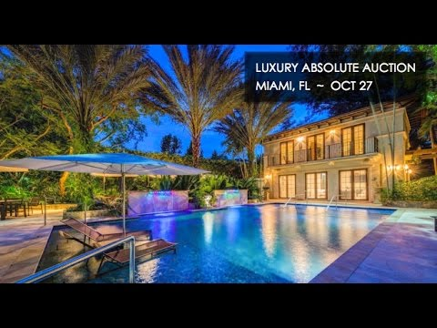 Coral Gables Miami Florida Mansion For Sale [12,712 Sq Ft]