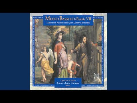 Maitines de Natividad (1652) : Villancico No. 1: En la gloria de un portalillo (In the glory of...