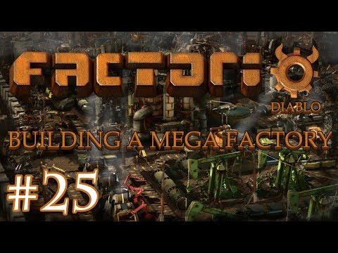Factorio - Building a Mega Factory: Part 25 The first setup of the Mega Factory