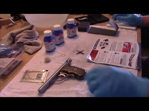 How To Use Cold Blue Cold Blue Your Gun Diy Gun Blue Birchwood