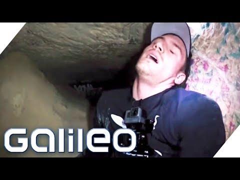 Die Pariser Katakomben: Ein Trip durch das düstere Tunnellabyrinth | Galileo | ProSieben