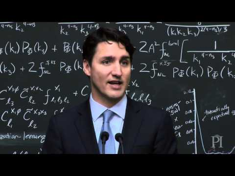Justin Trudeau Explains Quantum Computing, And the Crowd Goes Wild