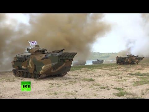 RAW: US, Thai & S. Korean soldiers hold 'Cobra Gold' military drills