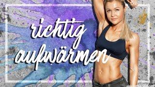 AUFWÄRMEN | Meine Routine | Tipps und Tricks | Dehnen | Sophia Thiel