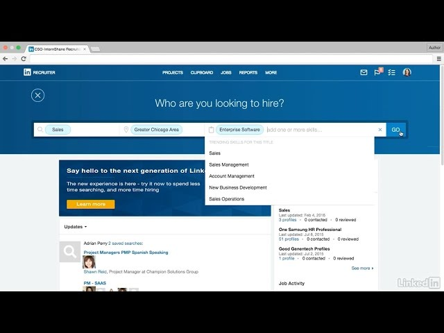 Introducing the Next Generation of LinkedIn Recruiter