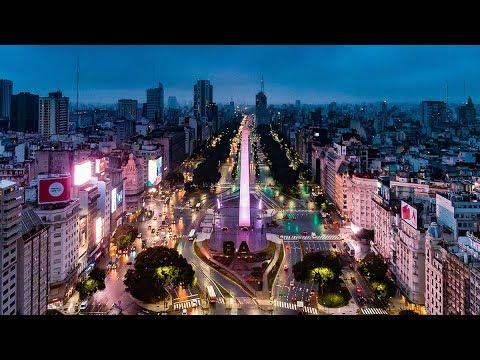 Buenos Aires Argentina via Drone