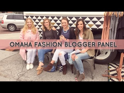 Omaha Fashion Blogger Panel at hello ruby grand opening