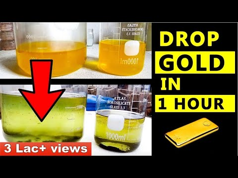 ⚠Gold Extraction From Aqua Regia | Gold Recovery #aquaregia