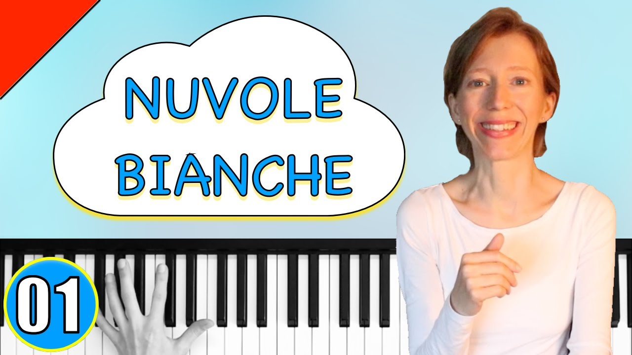 Ludovico Einaudi - Nuvole bianche - Piano Tutorial #1