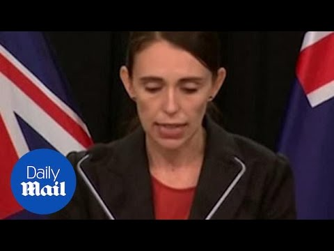 NZ PM Jacinda Ardern addresses media on Christchurch attack