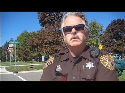 Oakland Co Deputies Harass Cameraman (1/7)